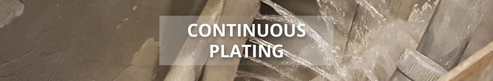 Precision Process - continuous Plating - Plating Accessories