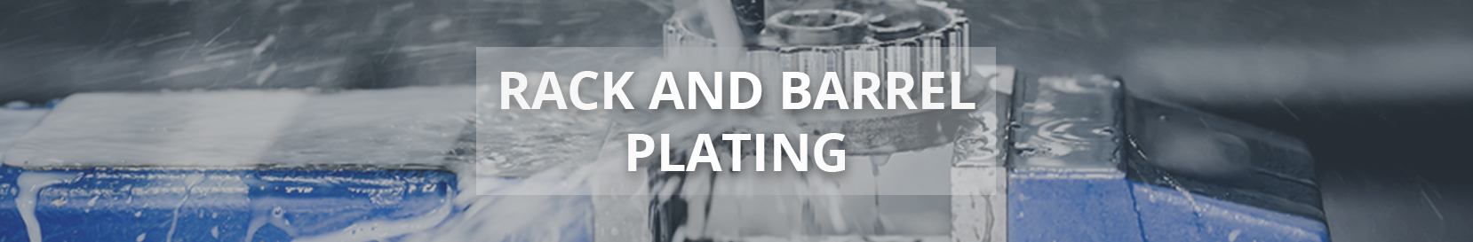 Rack and Barrel Plating Banner
